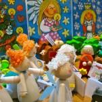 Haba Weihnachtsengel und Lutz Mauder Fensterbilder