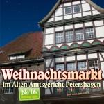 Weihnachtsmarkt im Alten Amtsgericht in Petershagen mit Numero 16
