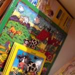 Große und kleine Kinderpuzzles