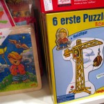 sechs erste Puzzle