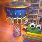 Trommel, Frosch-Xylophon