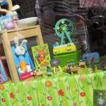 Das Schaufenster dekoriert für Ostern 2011