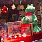 Numero-16 Schaufenster-Weihnachten Haba-Spiele Frosch usw.