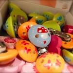 Haba Clips mit Fliegenpilz / Glueckspilz / Numero-16-Spielzeugladen